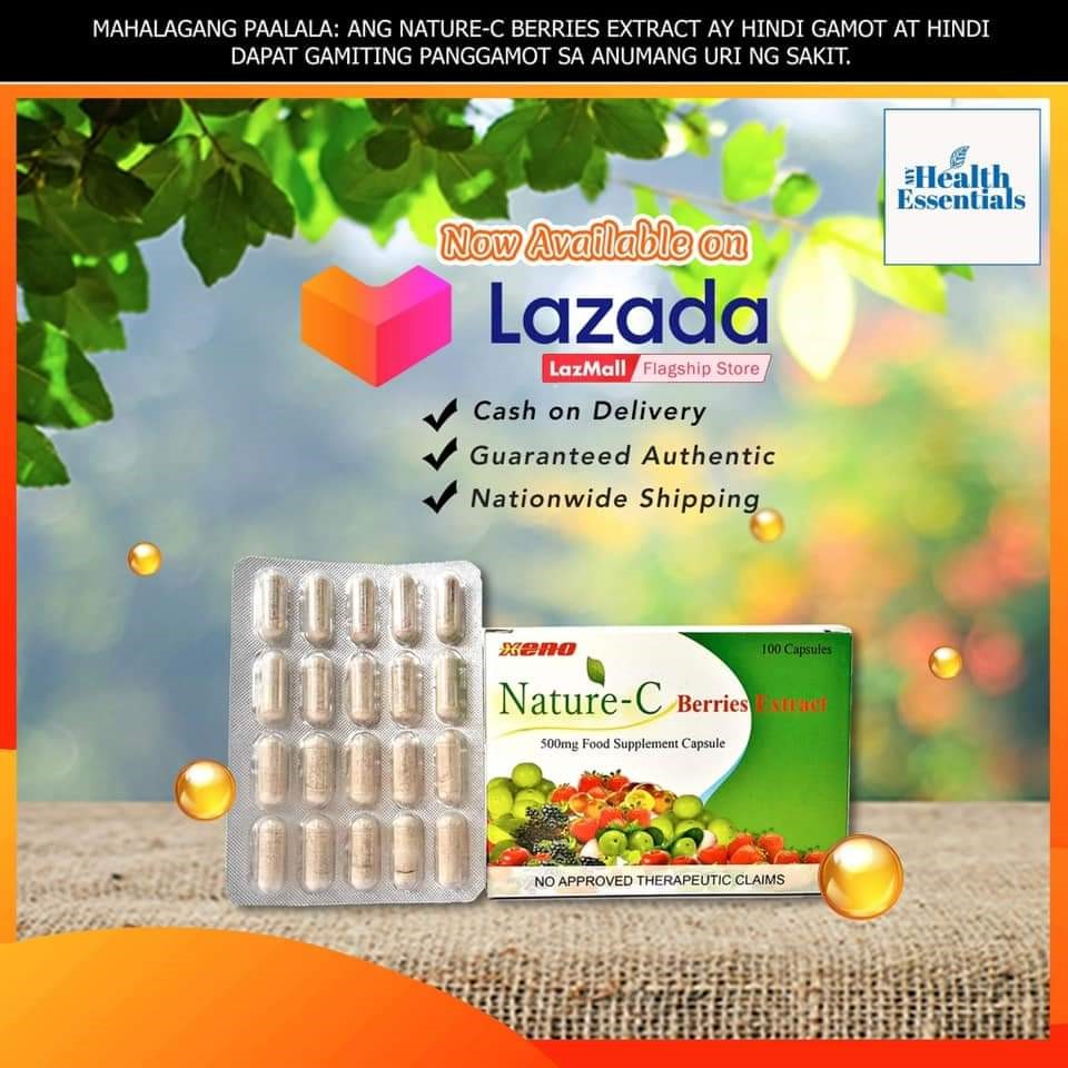 Nature C Berries Extract now available on Lazada